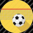 ball, football, net, padbal, padbol, sport icon