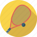 ball, game, racket, sport, squash icon