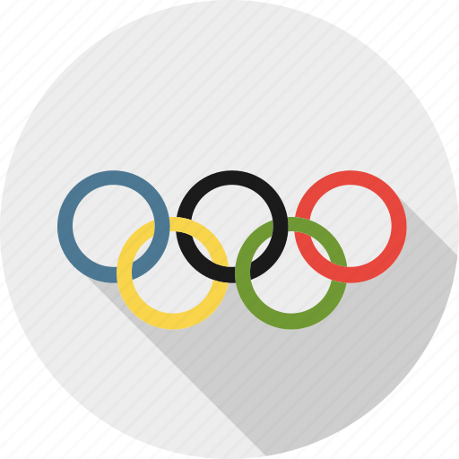 circle, olympic, olympic games, olympics, rings, sign, sport icon