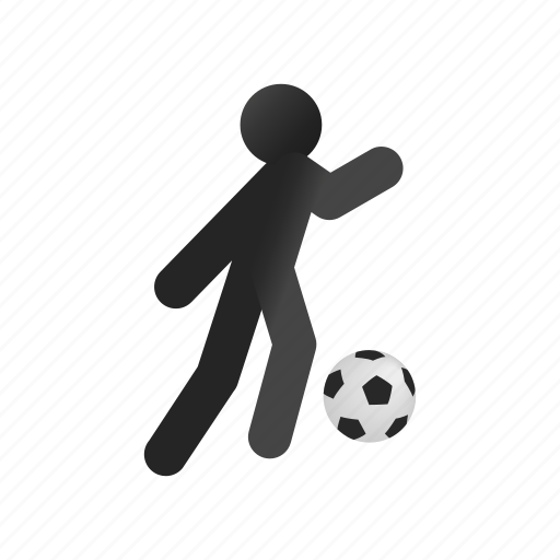ball, competition, football, game, isometric, soccer, sport icon