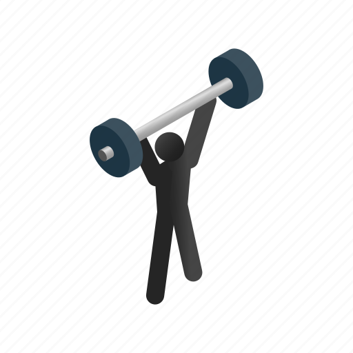 isometric, lifting, muscular, sport, strong, weight, weightlifting icon