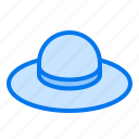 cap, hat, holiday, summer, vacation icon