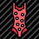bikini, femenine, suit, summertim, swimming