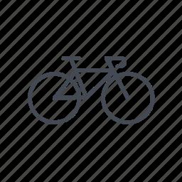 bicycle, bike, cycling, urban bike icon