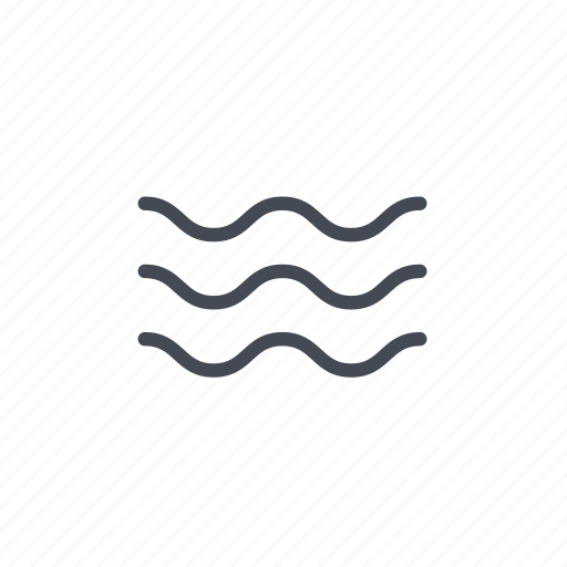 current, ocean, river, sea, water, wave icon