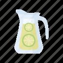 cold, drink, juice, lemonade, lime, summer, vitamin