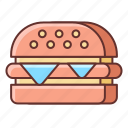 cooking, fast, food, restaurant