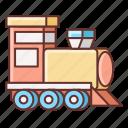 railway, train, transport, transportation