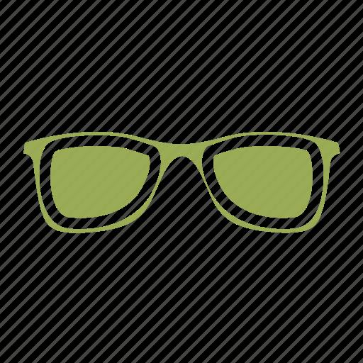 eyeglass, holiday, summer, travel icon