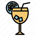 alcohol, beach, drink, orange, orange jus, summer icon