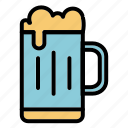 alcohol, beer, drink, summer icon