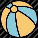 ball, beach, seal, summer, travel, vollyball icon