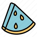 food, nutrition, summer, wattermelon icon