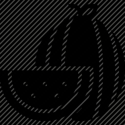 Food, fruit, oranic, vegan, watermelon icon - Download on Iconfinder
