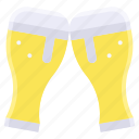 alcohol, beverage, celebrate, cheer, drinks, summer, ิbeer icon