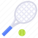 sport, summer, tennis, tennis racket icon