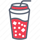 beverage, cola, drink, soda, summer icon
