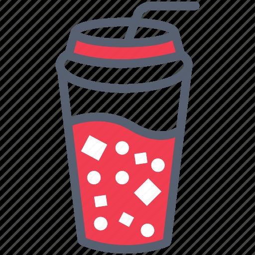 beverage, cola, drink, soda, summer icon