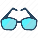 glasses, shades, summer, sunglasses icon