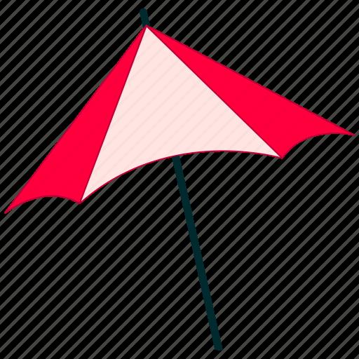 beach umbrella, shade, summer, umbrella icon