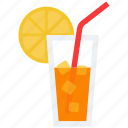 alcohol, citrus, cocktail, drink, glass, vacation