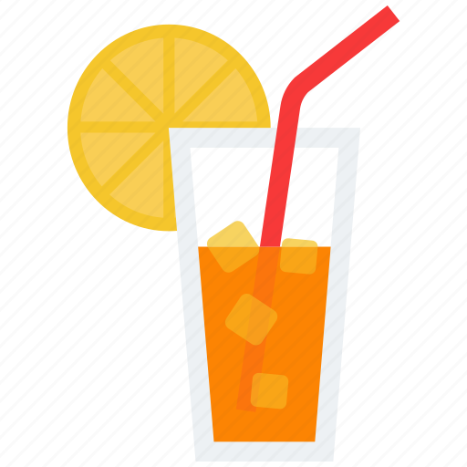 alcohol, citrus, cocktail, drink, glass, vacation icon