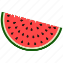 fruit, melon, summer, watermelon icon