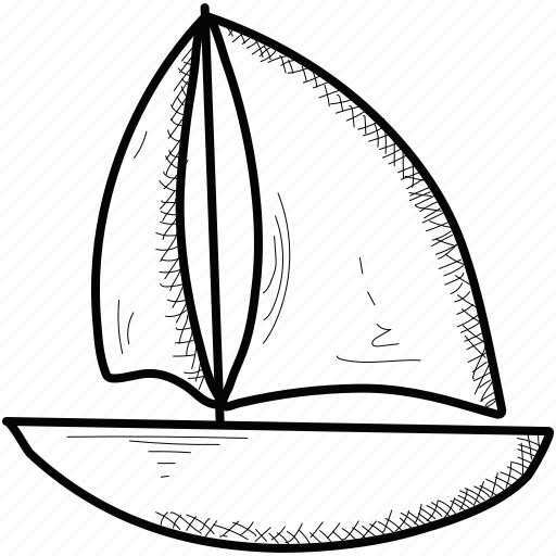 Boat, sail, sea, ship, yacht icon - Download on Iconfinder