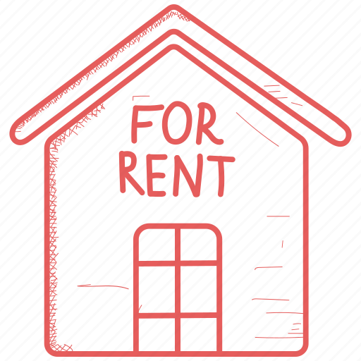 for, house, rent icon