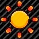 brightness, bukeicon, day, shine, summer, sunny