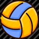 ball, beach, bukeicon, summer, volley