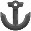 anchor, bukeicon, marine, nautical, ship, summer