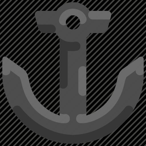 Anchor, bukeicon, marine, nautical, ship, summer icon - Download on Iconfinder