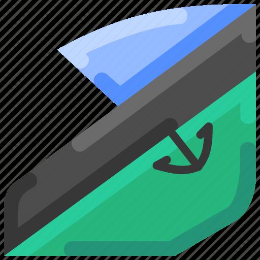 boat, bukeicon, motor, speed, speedboat, summer icon