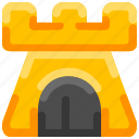 beach, bukeicon, castle, kingdom, sand, toys icon
