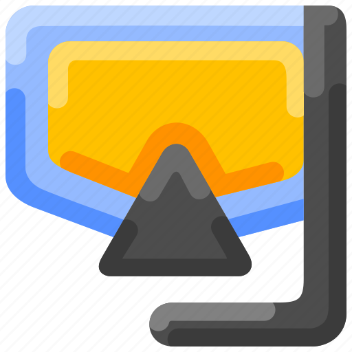 Bukeicon, diving, mask, oceans, snorkling, summer icon - Download on Iconfinder