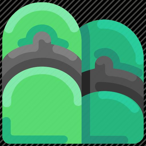Beach, bukeicon, flipflop, footware, sandal, summer icon - Download on Iconfinder