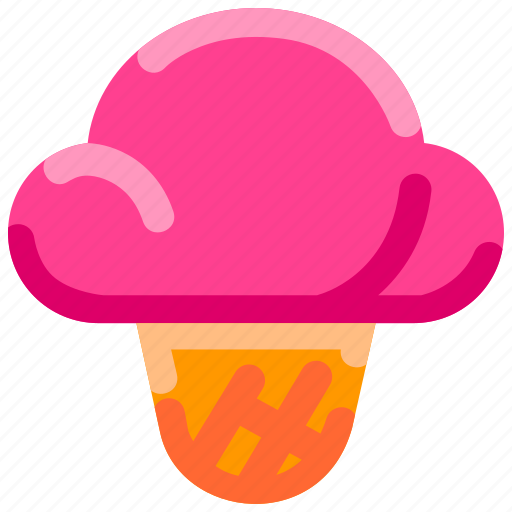 Bukeicon, cream, ice, summer, sweet icon - Download on Iconfinder