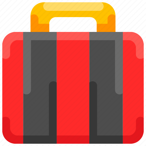 Baggage, briefcase, bukeicon, luggage, suitcase, summer icon - Download on Iconfinder