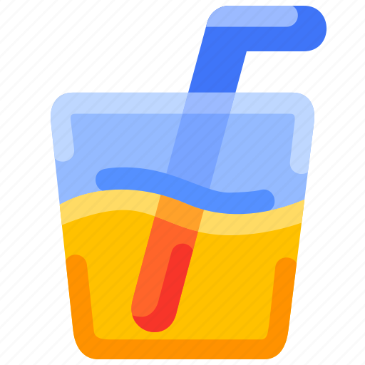 bukeicon, drink, juice, lime, orange, summer icon