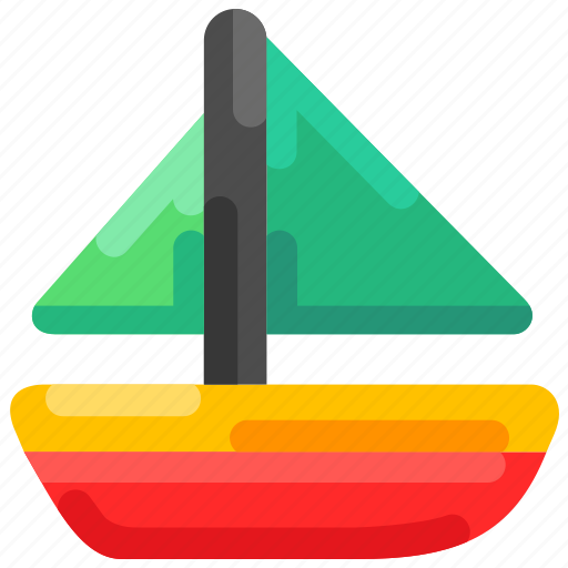 Beach, boat, fisherman, sailing, sea, summer icon - Download on Iconfinder