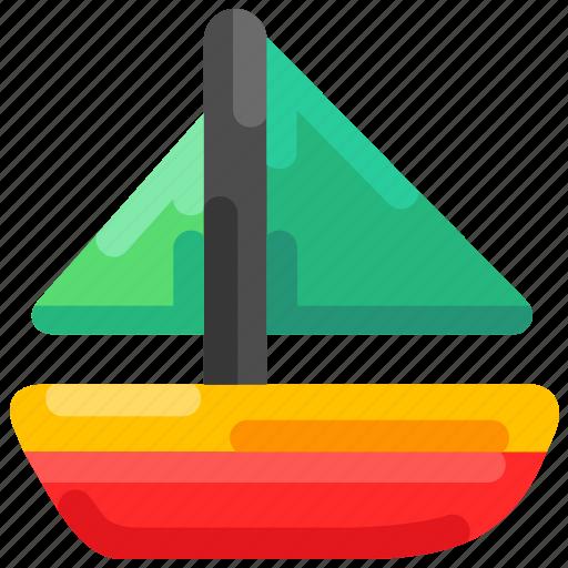 beach, boat, fisherman, sailing, sea, summer icon
