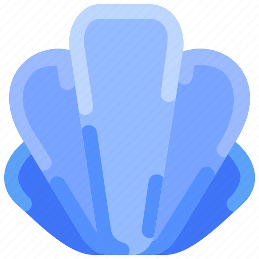 Beach, food, sea, seashell, summer icon - Download on Iconfinder