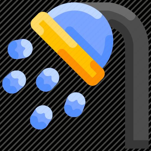Bath, beach, bukeicon, shower, summer, tub icon - Download on Iconfinder
