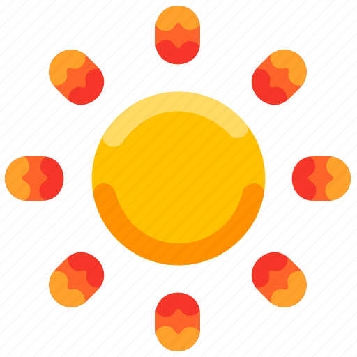 Brightness, bukeicon, day, shine, summer, sunny icon - Download on Iconfinder