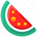 bukeicon, food, fresh, fruit, summer, watermelon
