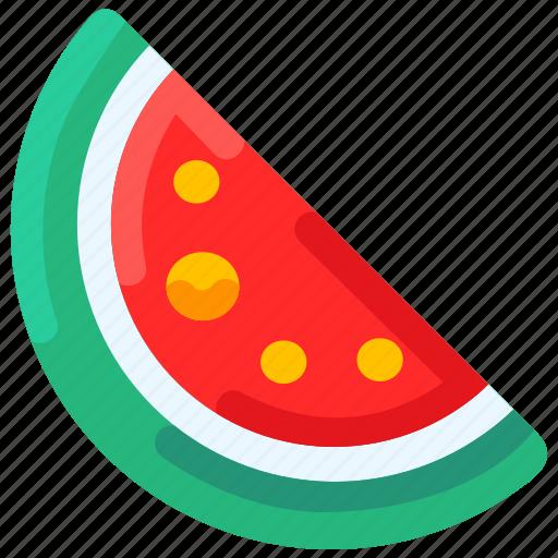 Bukeicon, food, fresh, fruit, summer, watermelon icon - Download on Iconfinder