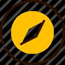 bukeicon, compass, direction, map, navigation, safari icon