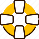 beach, bukeicon, float, help, rescue, sea, support icon