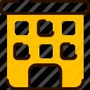 building, bukeicon, flats, holidays, hotel, resort icon